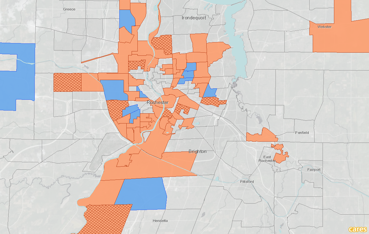 Food Desert Census Tract Change