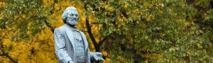 Frederick Douglass statue in Rochester, NY's Highland Park